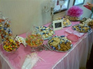 baby shower catering event